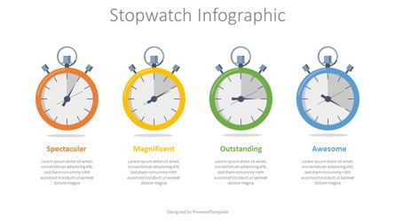 Infographics: Stopwatch Infographic #08156