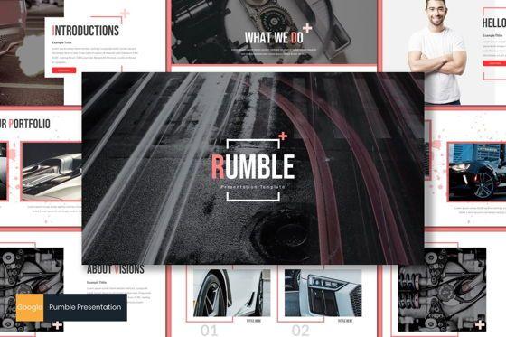 Presentation Templates: Rumble - Google Slides Template #08161
