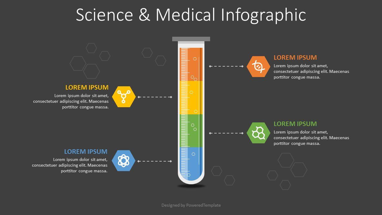 Science and Medicine Infographic, 08164, Infographics — PoweredTemplate.com