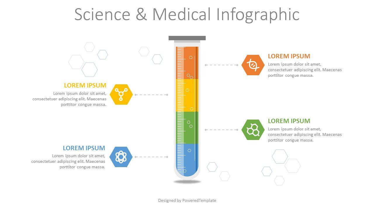 Science and Medicine Infographic, Slide 2, 08164, Infographics — PoweredTemplate.com