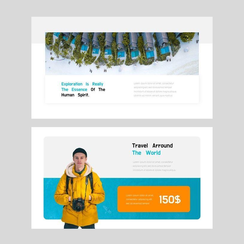 Ocean - PowerPoint Presentation Template, Slide 12, 08166, Presentation Templates — PoweredTemplate.com