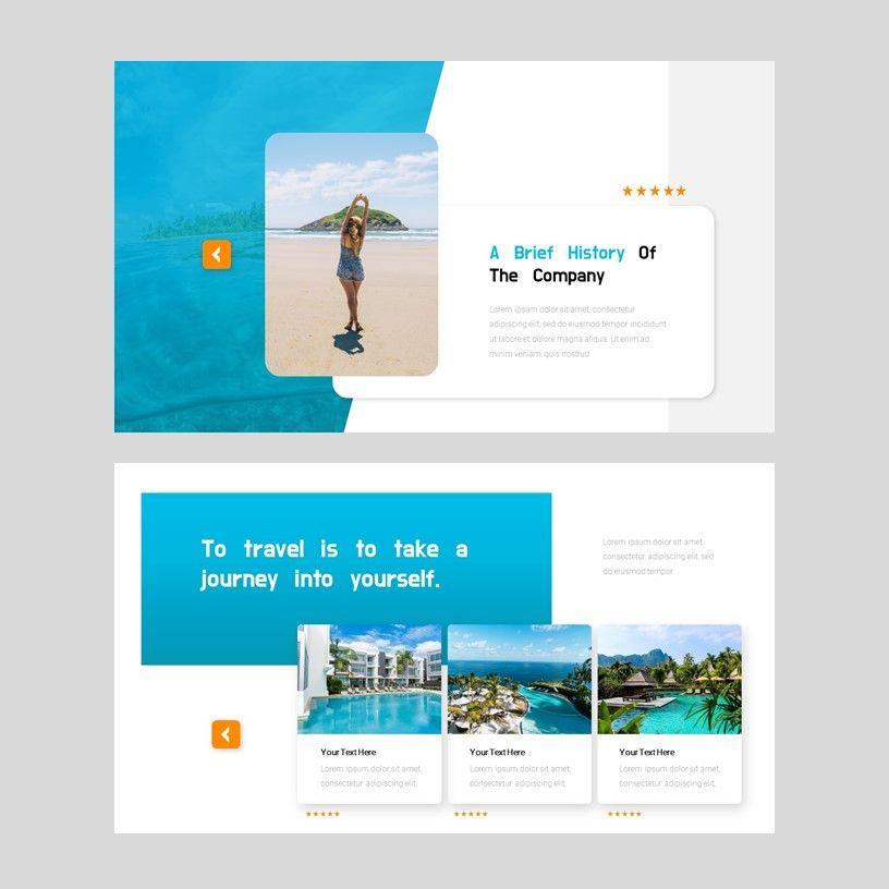 Ocean - PowerPoint Presentation Template, Slide 4, 08166, Presentation Templates — PoweredTemplate.com