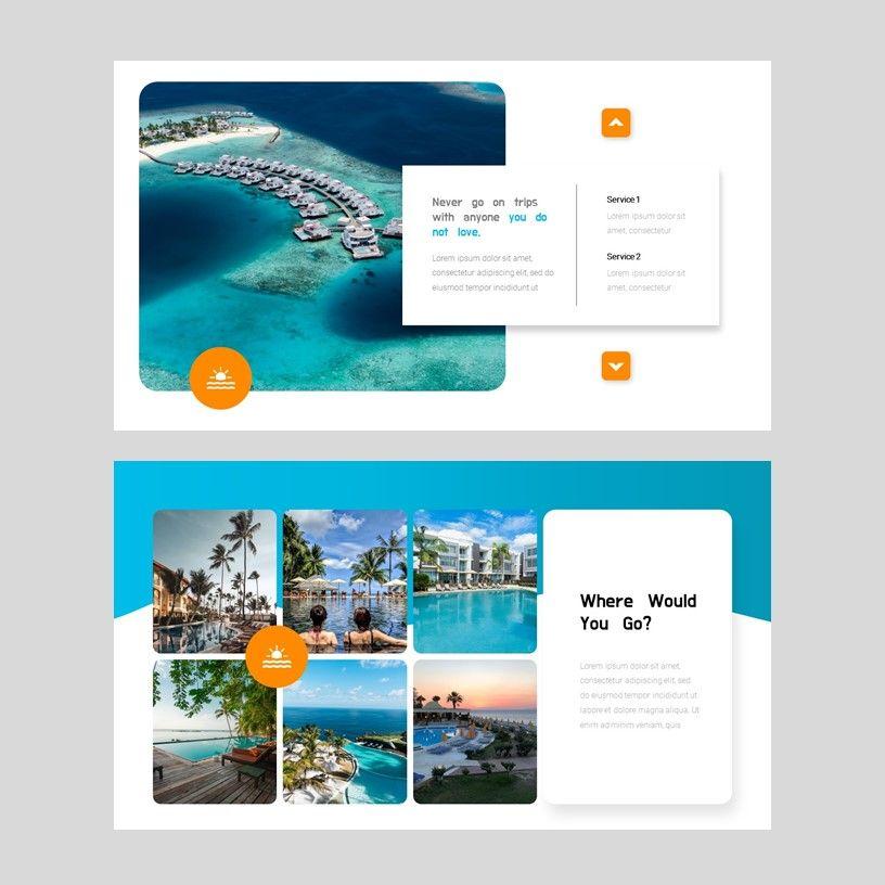 Ocean - PowerPoint Presentation Template, Slide 7, 08166, Presentation Templates — PoweredTemplate.com