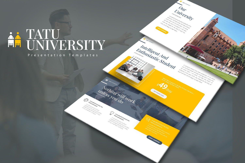 Tatu University Powerpoint Presentation, 08173, Business Models — PoweredTemplate.com