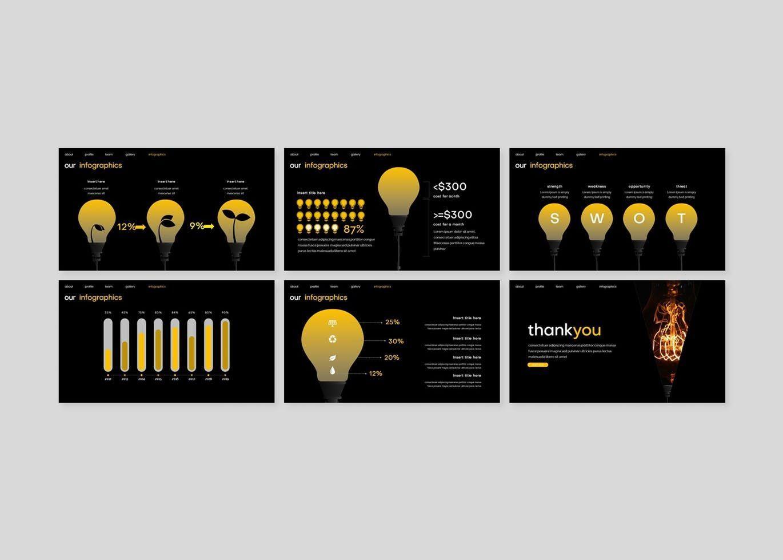Spotlight - Google Slides Template, Slide 5, 08186, Presentation Templates — PoweredTemplate.com