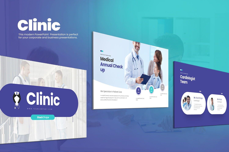 Clinic Keynote Templates, 08192, Business Models — PoweredTemplate.com