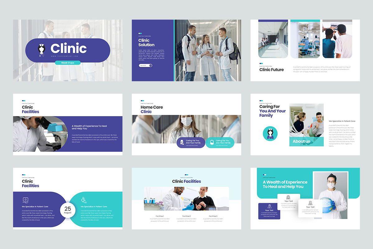 Clinic Keynote Templates, Slide 2, 08192, Business Models — PoweredTemplate.com