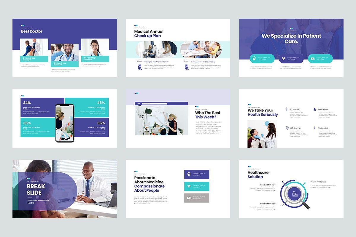 Clinic Keynote Templates, Slide 4, 08192, Business Models — PoweredTemplate.com