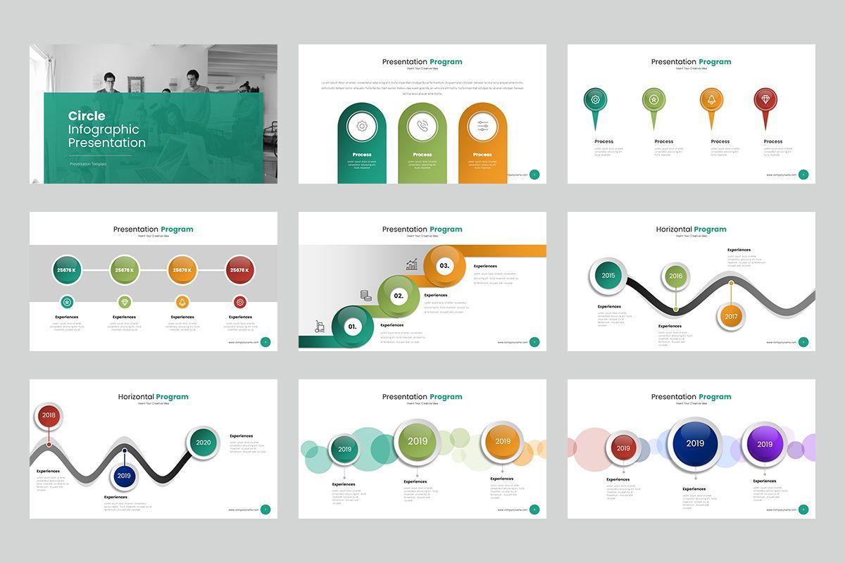 Circle Infographic Keynote Templates, Slide 2, 08194, Business Models — PoweredTemplate.com