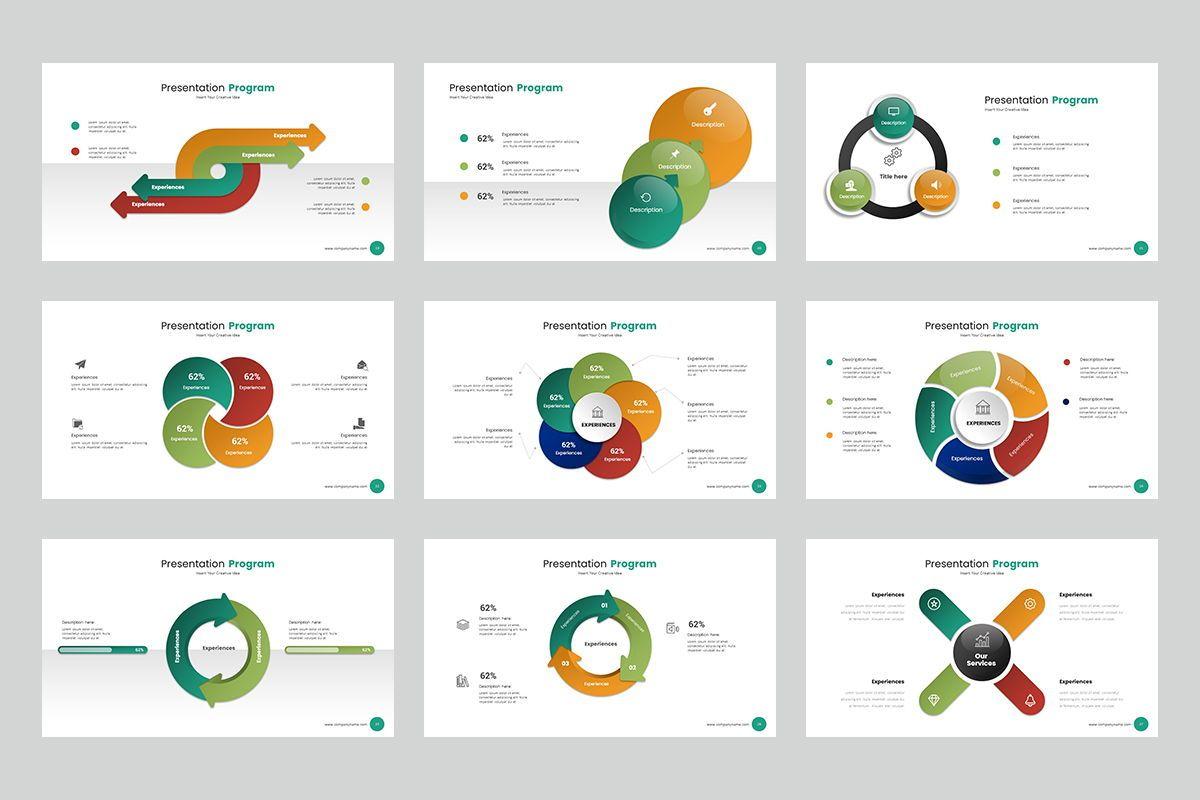 Circle Infographic Keynote Templates, Slide 4, 08194, Business Models — PoweredTemplate.com