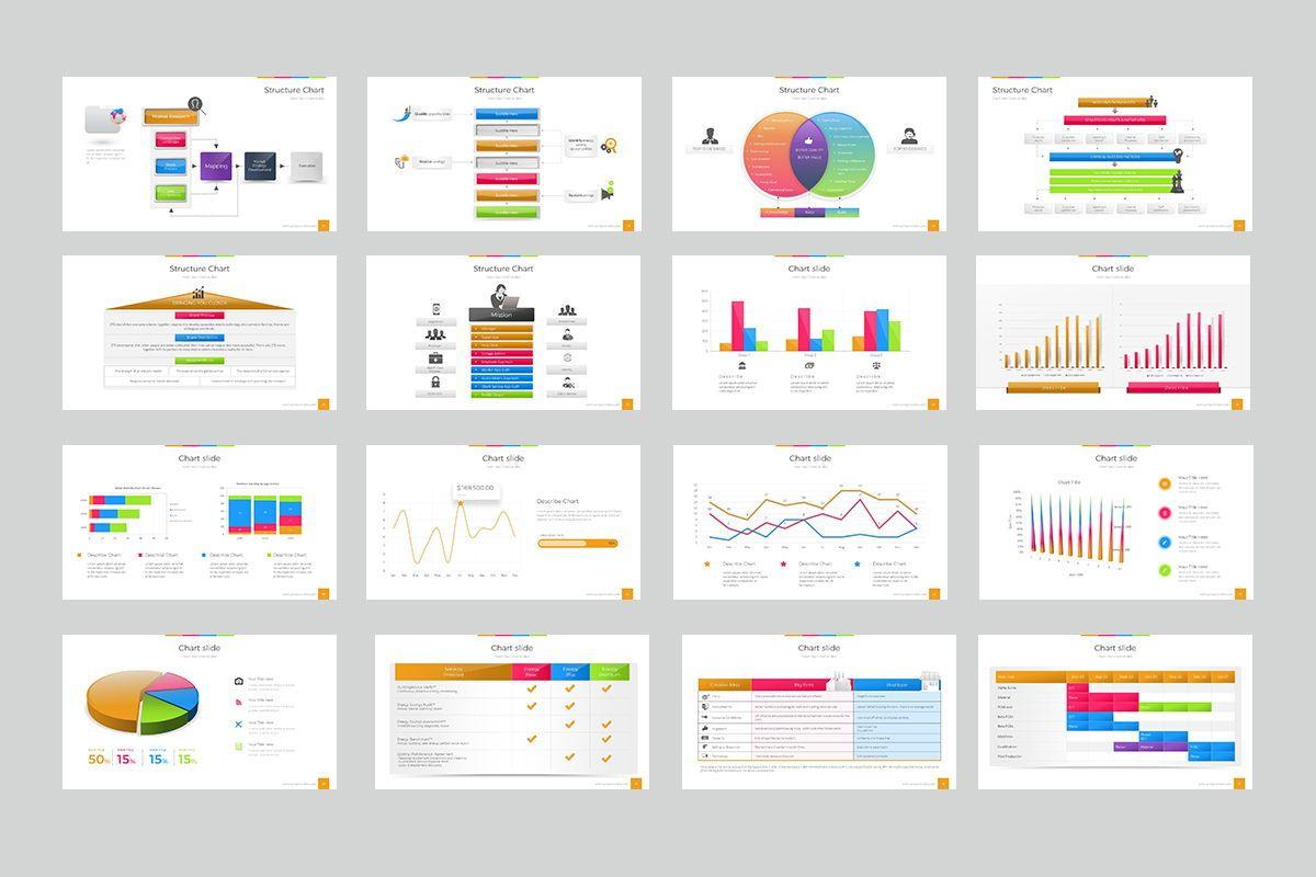 Structure Chart Keynote Templates, Slide 3, 08198, Business Models — PoweredTemplate.com