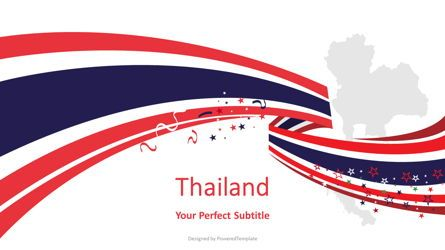 Presentation Templates: Thailand Festive State Flag #08202