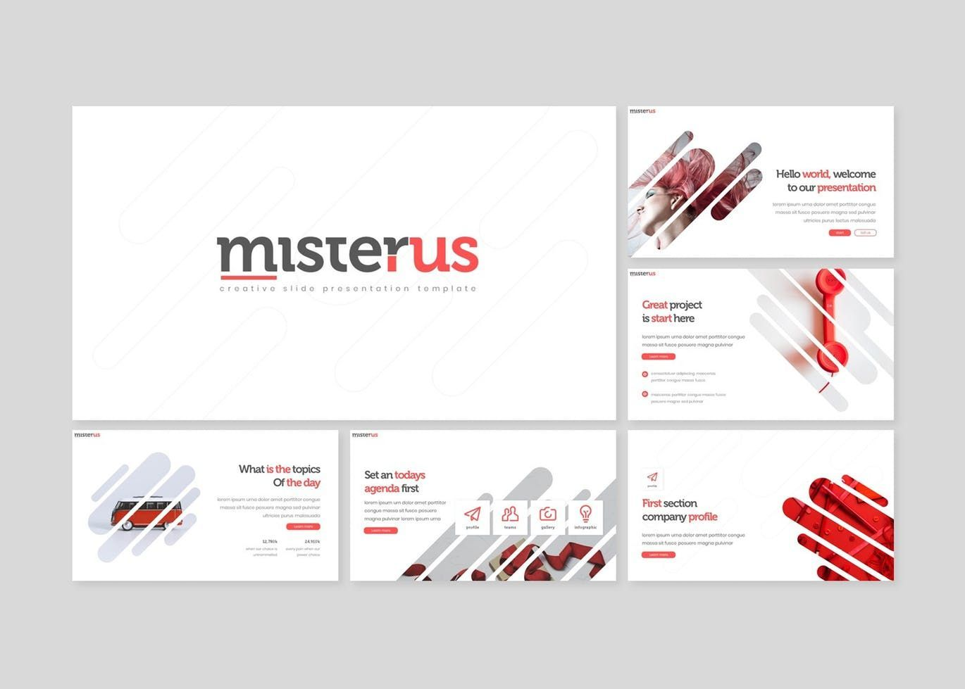 Misterus - Keynote Template, Slide 2, 08207, Presentation Templates — PoweredTemplate.com
