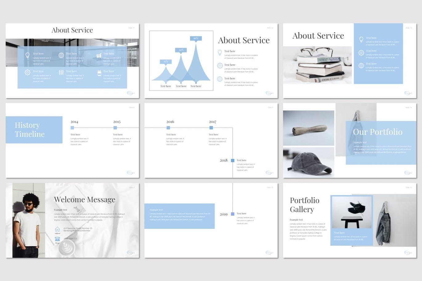 Onward - Google Slides Template, Slide 3, 08210, Presentation Templates — PoweredTemplate.com