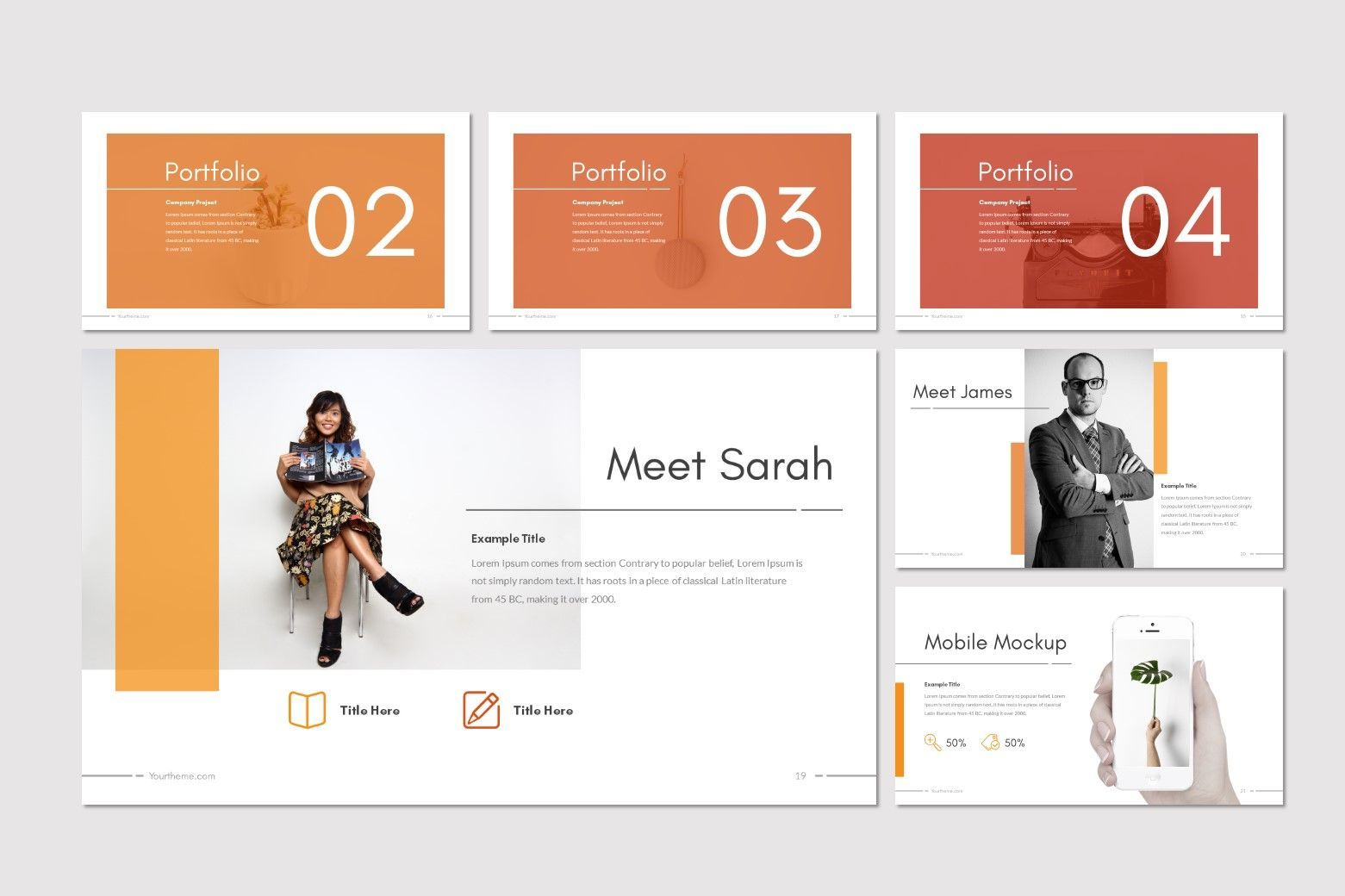 Moderno - PowerPoint Template, Slide 4, 08211, Presentation Templates — PoweredTemplate.com
