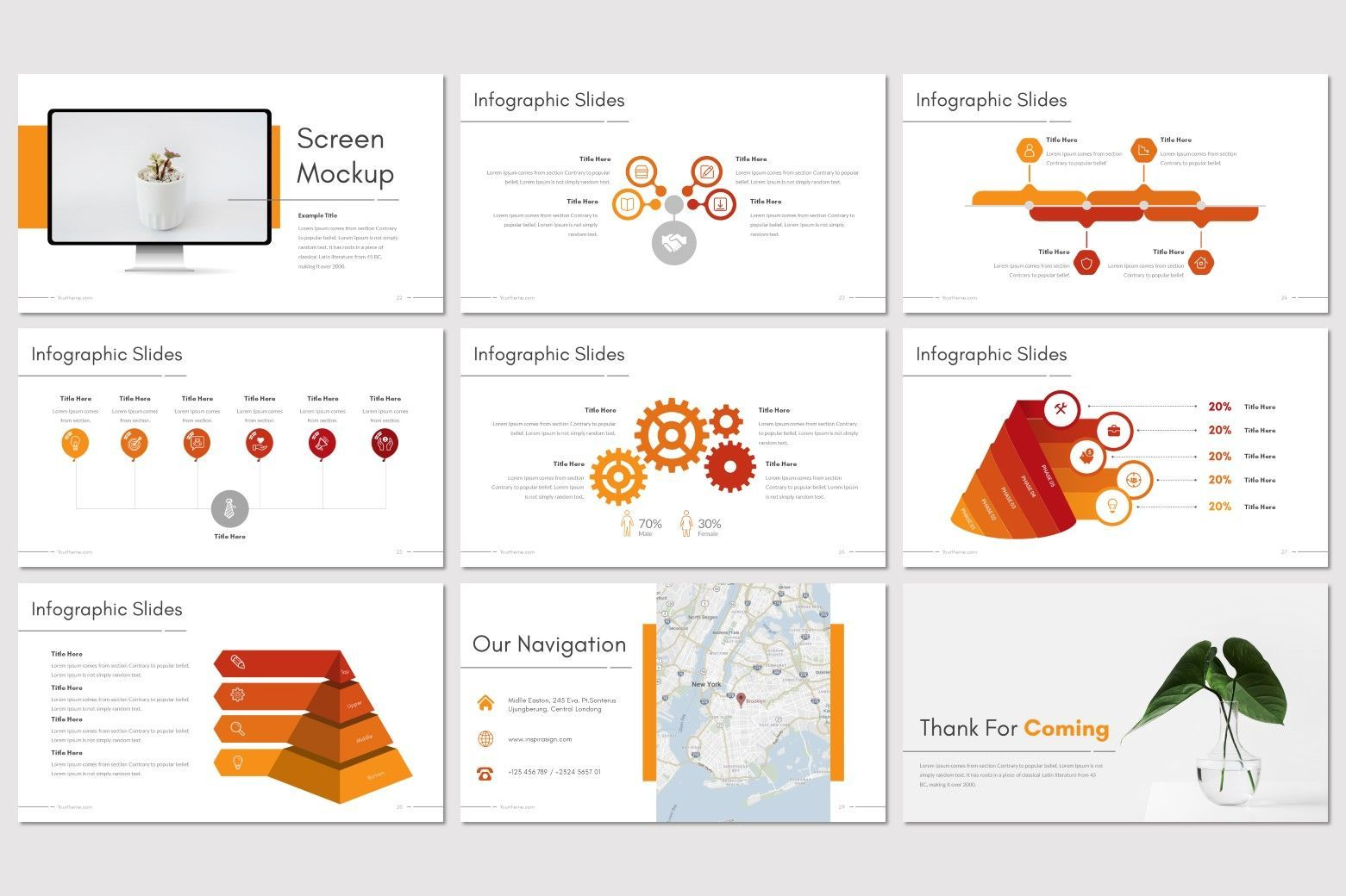 Moderno - PowerPoint Template, Slide 5, 08211, Presentation Templates — PoweredTemplate.com