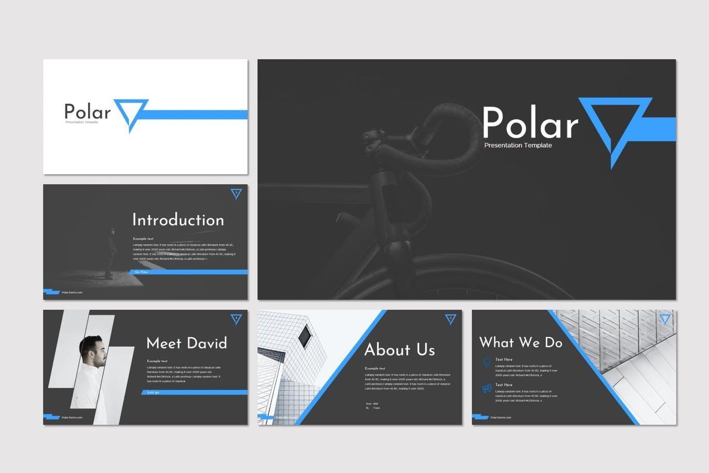 Polar - PowerPoint Template, Slide 2, 08215, Presentation Templates — PoweredTemplate.com