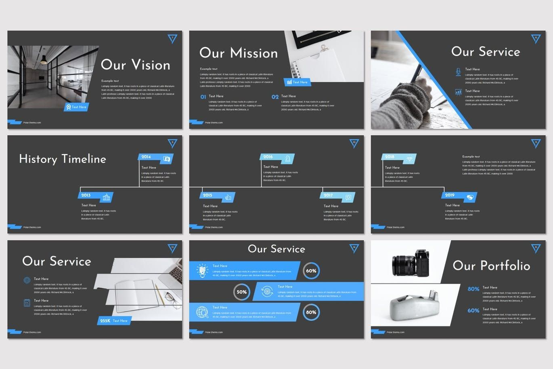 Polar - PowerPoint Template, Slide 3, 08215, Presentation Templates — PoweredTemplate.com