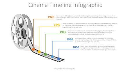 Infographics: Cinema Reel Timeline Infographic #08217