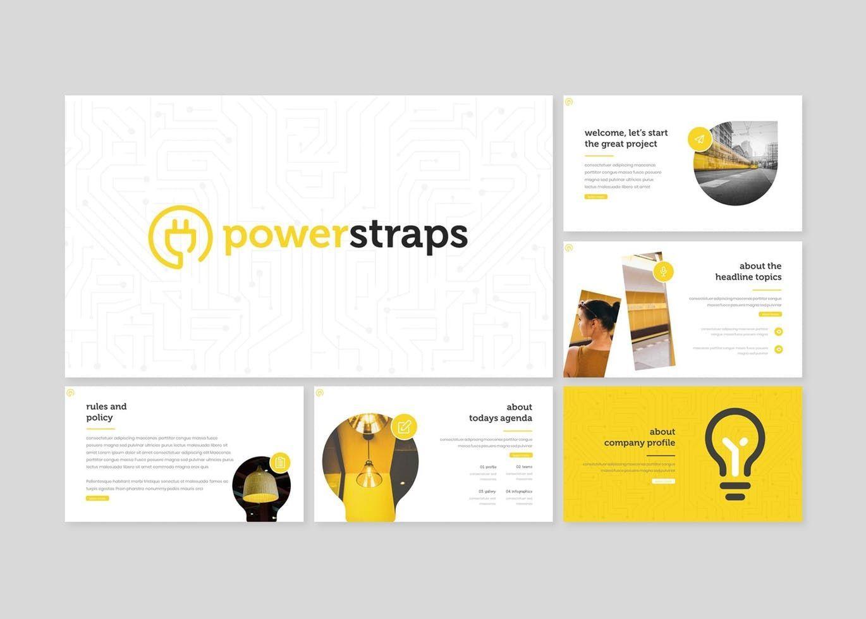 Powerstraps - PowerPoint Template, Slide 2, 08218, Presentation Templates — PoweredTemplate.com