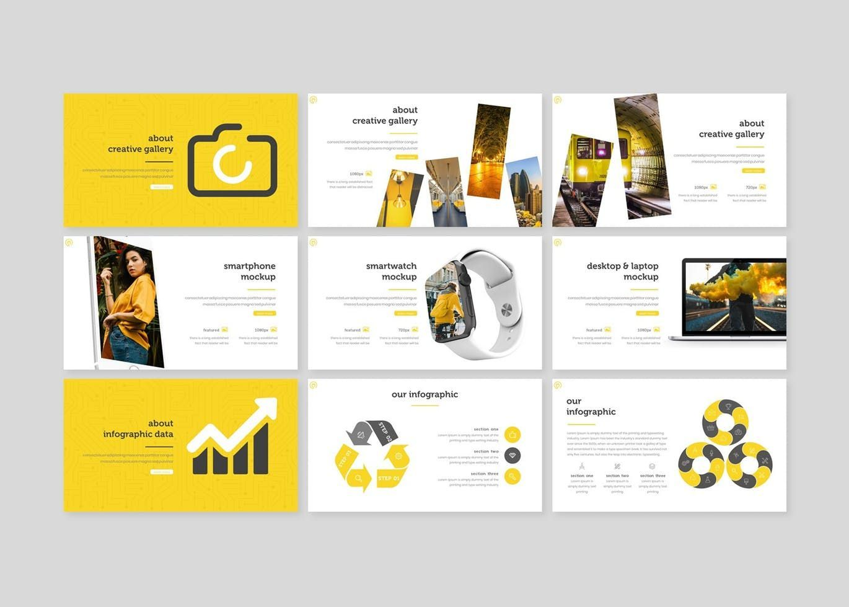Powerstraps - PowerPoint Template, Slide 4, 08218, Presentation Templates — PoweredTemplate.com