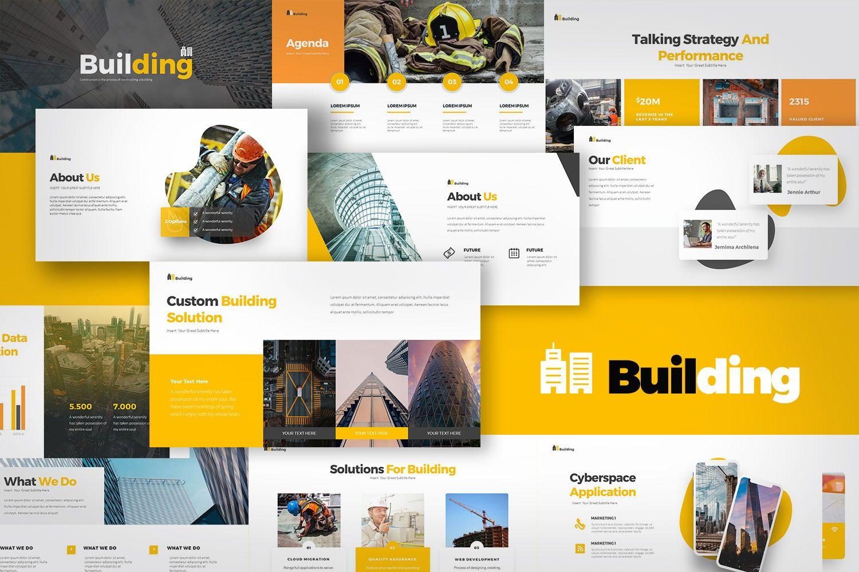 Building Google Slides Templates, 08228, Icons — PoweredTemplate.com