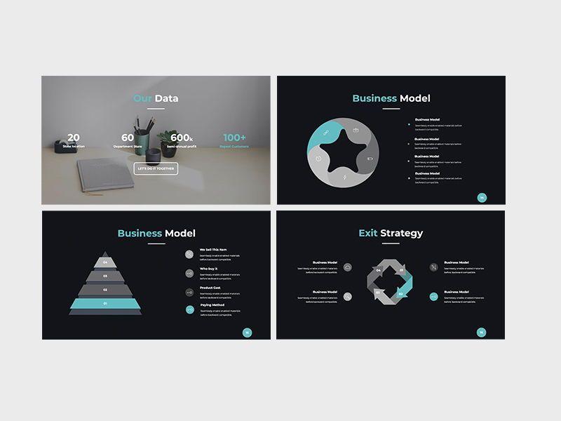 Darko Pitch Deck Template KEY, Slide 5, 08233, Presentation Templates — PoweredTemplate.com