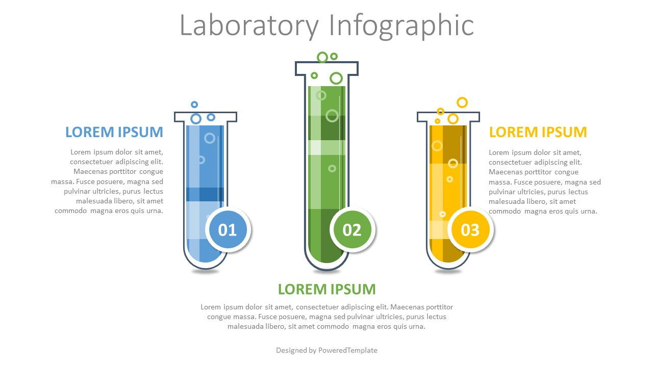 Laboratory Infographic, 08239, Education Charts and Diagrams — PoweredTemplate.com