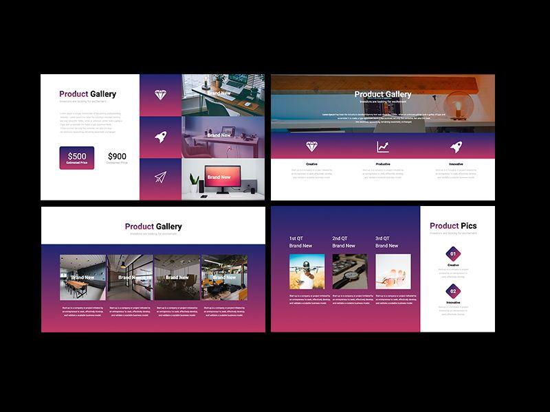 UNICORN Startup Pitch Deck Template Googleslide, Slide 10, 08245, Presentation Templates — PoweredTemplate.com