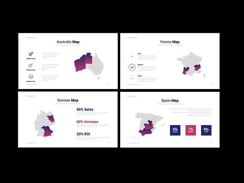 UNICORN Startup Pitch Deck Template Googleslide, Slide 20, 08245, Presentation Templates — PoweredTemplate.com