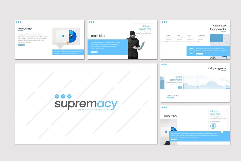 Supremacy - PowerPoint Template, Slide 2, 08249, Presentation Templates — PoweredTemplate.com