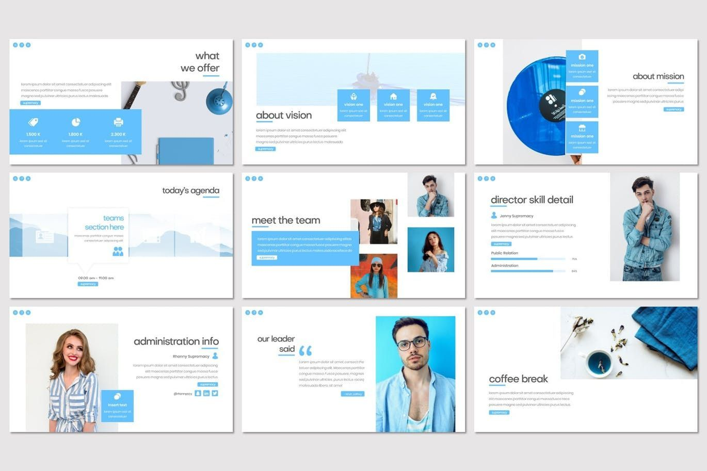 Supremacy - PowerPoint Template, Slide 3, 08249, Presentation Templates — PoweredTemplate.com