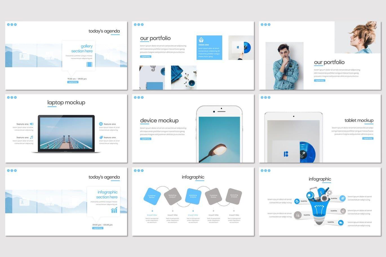 Supremacy - PowerPoint Template, Slide 4, 08249, Presentation Templates — PoweredTemplate.com