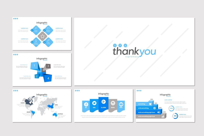 Supremacy - PowerPoint Template, Slide 5, 08249, Presentation Templates — PoweredTemplate.com