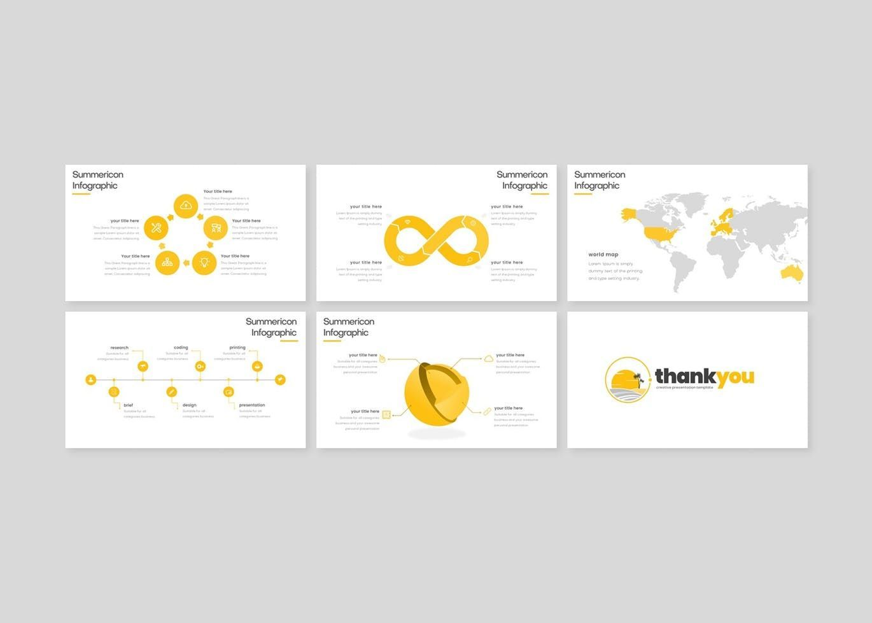 Summericon - PowerPoint Template, Slide 5, 08250, Presentation Templates — PoweredTemplate.com