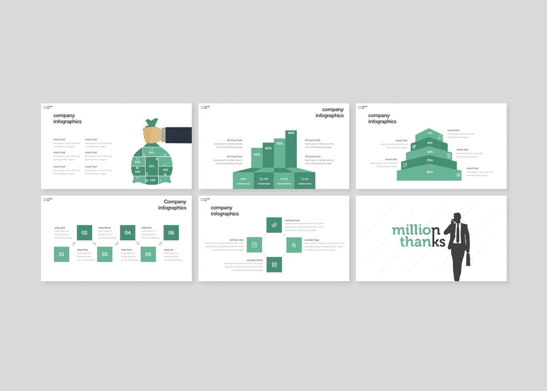 Nocturnal Worker - Keynote Template, Slide 5, 08254, Presentation Templates — PoweredTemplate.com