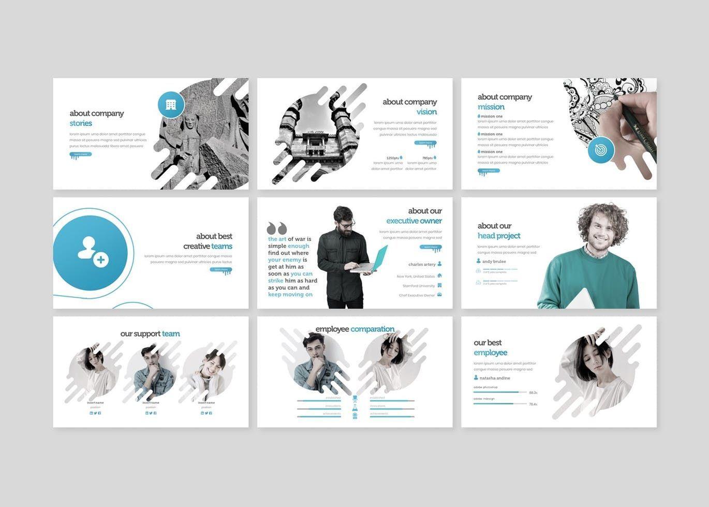The Creativeart - Keynote Template, Slide 3, 08255, Presentation Templates — PoweredTemplate.com