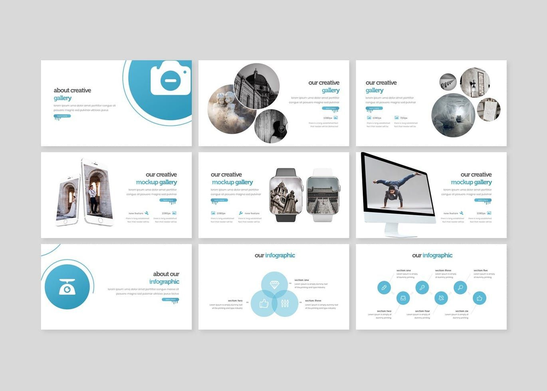 The Creativeart - Keynote Template, Slide 4, 08255, Presentation Templates — PoweredTemplate.com