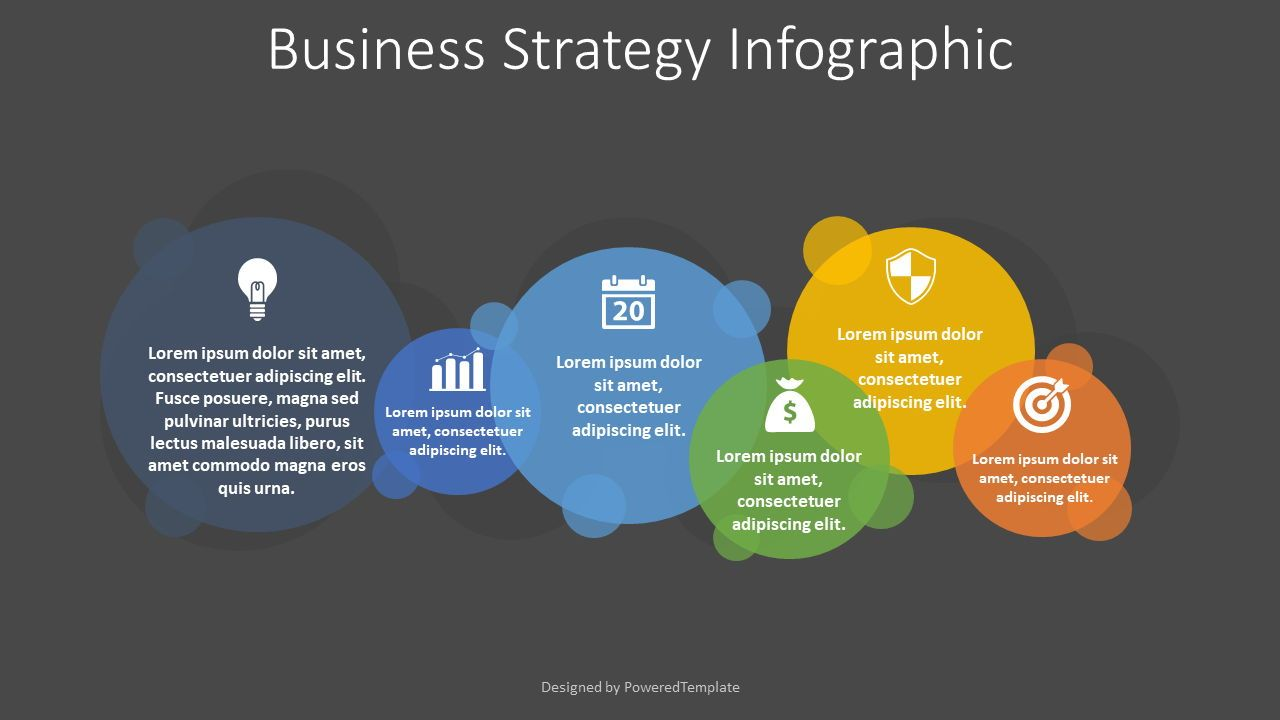 Business Strategy Infographic, Slide 2, 08256, Infographics — PoweredTemplate.com
