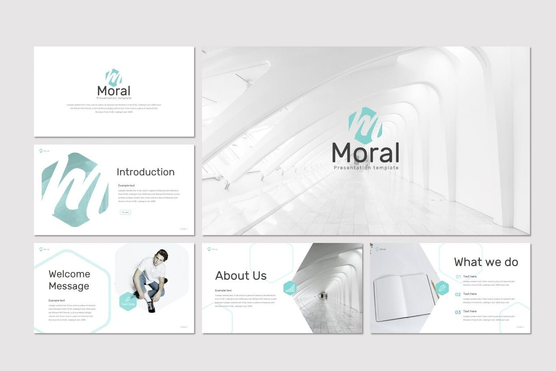 Moral - PowerPoint Template, Slide 2, 08258, Presentation Templates — PoweredTemplate.com