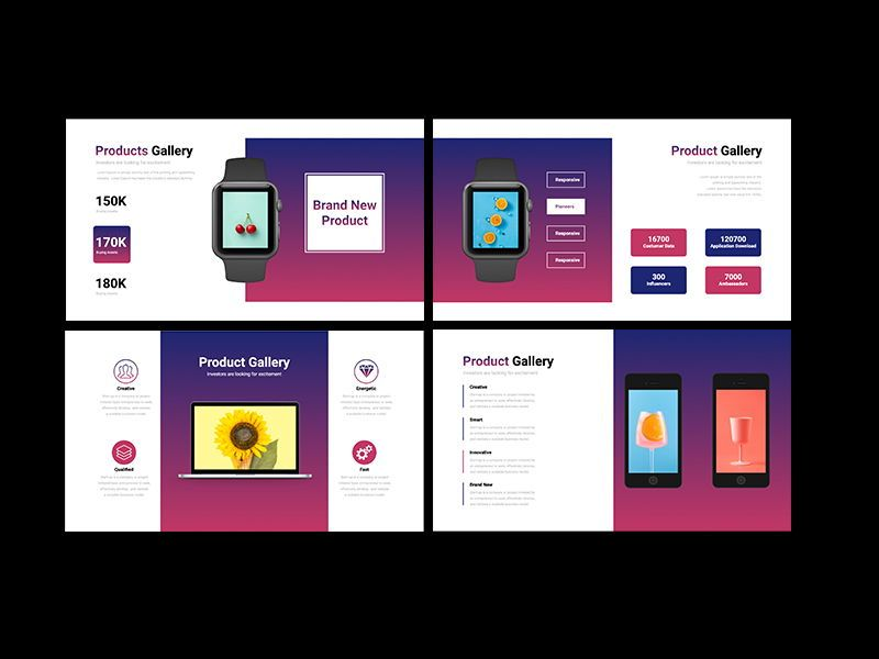 UNICORN Startup Pitch Deck Template KEYNOTE, Slide 13, 08268, Presentation Templates — PoweredTemplate.com