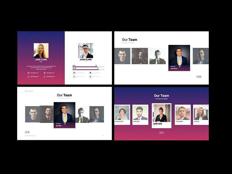 UNICORN Startup Pitch Deck Template KEYNOTE, Slide 15, 08268, Presentation Templates — PoweredTemplate.com