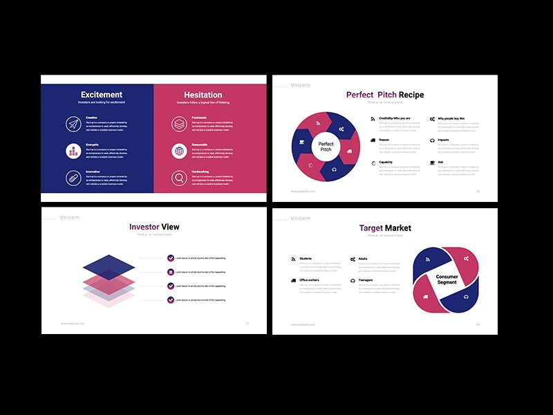 UNICORN Startup Pitch Deck Template KEYNOTE, Slide 6, 08268, Presentation Templates — PoweredTemplate.com