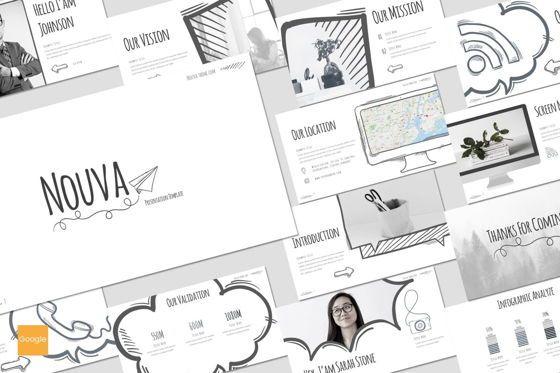 Presentation Templates: Nouva - Google Slides Template #08269