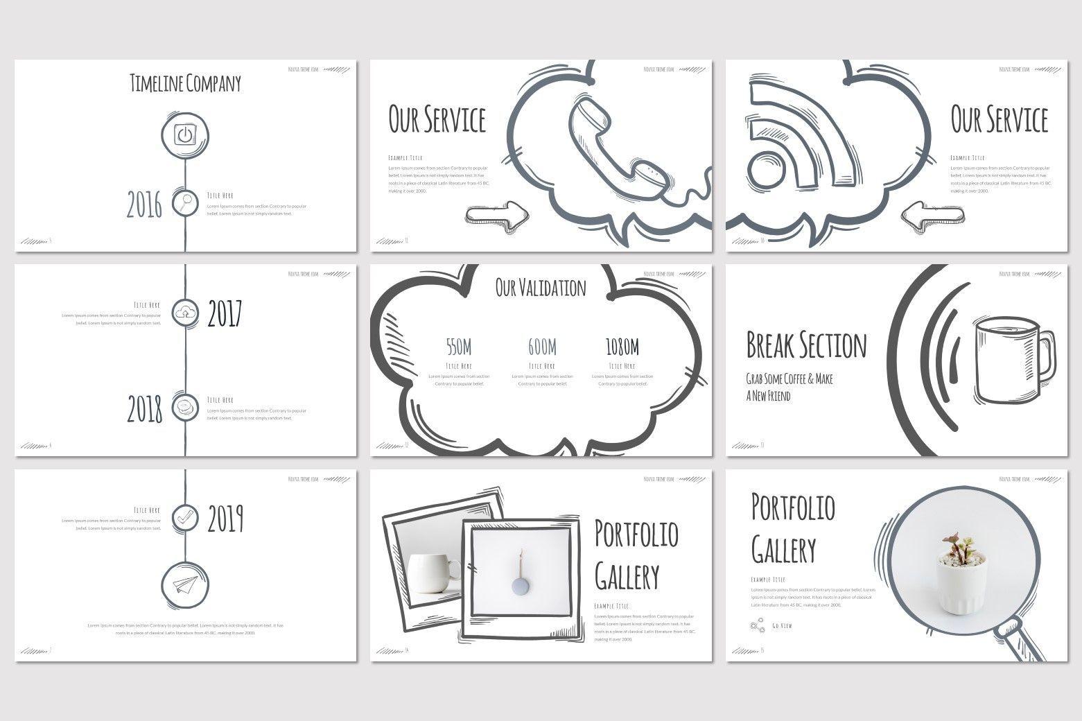 Nouva - Google Slides Template, Slide 3, 08269, Presentation Templates — PoweredTemplate.com