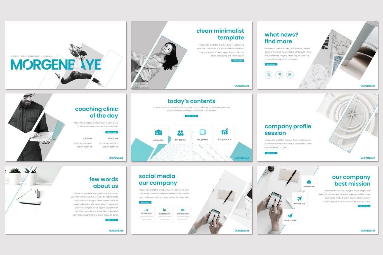 Morgenbaye - Keynote Template, Slide 2, 08292, Presentation Templates — PoweredTemplate.com