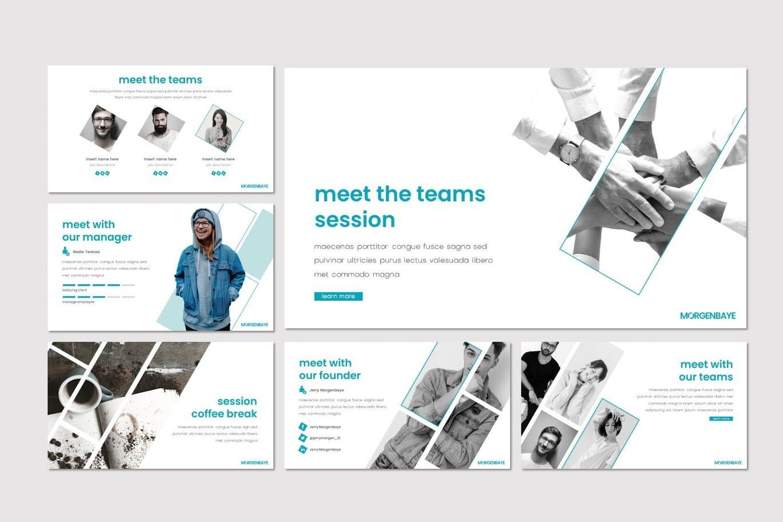 Morgenbaye - Keynote Template, Slide 3, 08292, Presentation Templates — PoweredTemplate.com