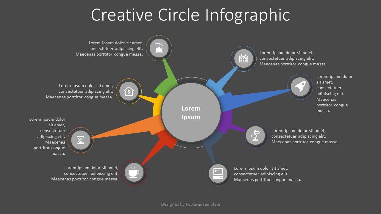 Creative Circle Diagram, Slide 2, 08294, Infographics — PoweredTemplate.com