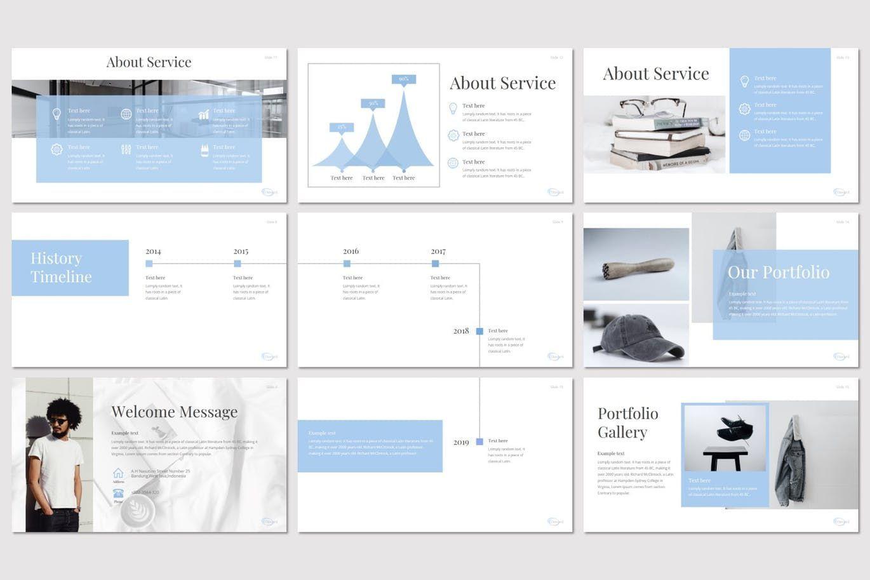 Onward - PowerPoint Template, Slide 3, 08298, Presentation Templates — PoweredTemplate.com