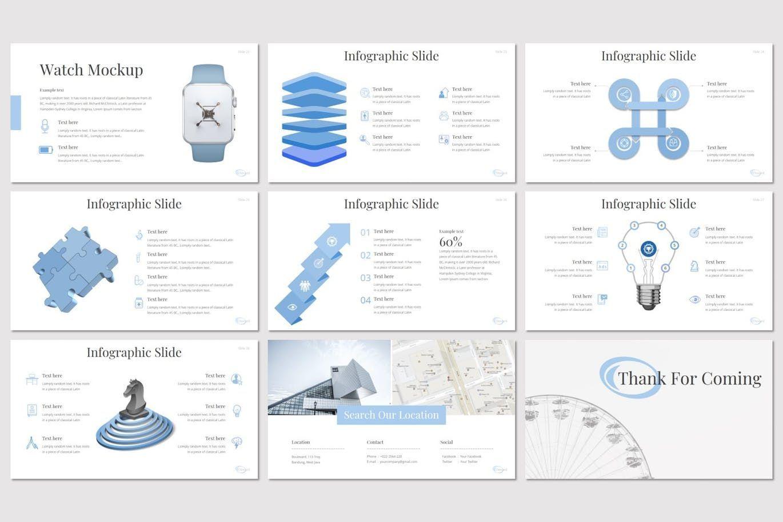 Onward - PowerPoint Template, Slide 5, 08298, Presentation Templates — PoweredTemplate.com